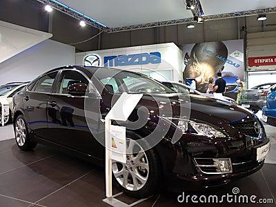 Mazda3 Sedan Editorial Stock Photo