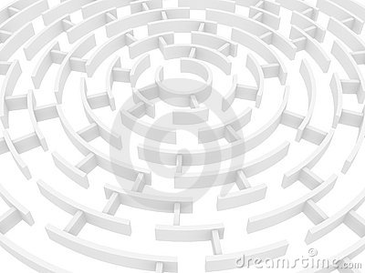 Maze Royalty Free Stock Photos - Image: 15306168