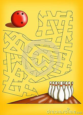 Free Maze 19 Stock Photos - 17601263
