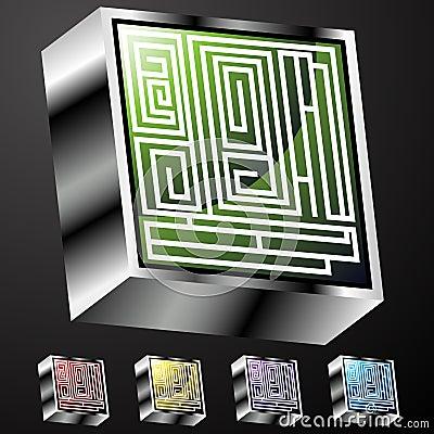 Maze Buttons