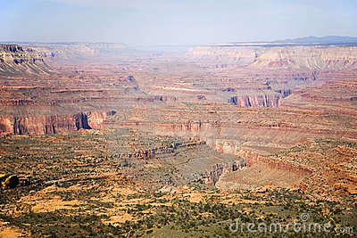 A Maze of Canyons