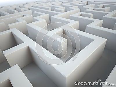 Maze close-up