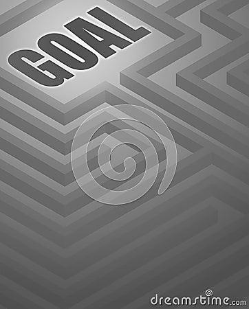 Maze Goal Background