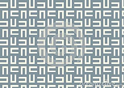 Maze Pattern on Pastel Color