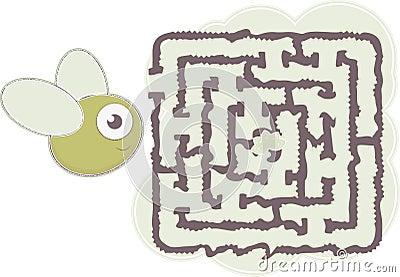 Maze s bee