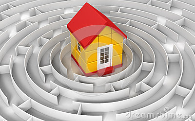 Maze to house