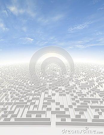Free Maze To Infinity Stock Photos - 1584273