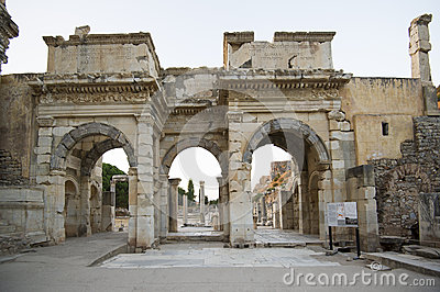 Mazeusa and Mithridates Gate in Ephesus.