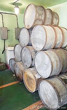 Mazut barrels