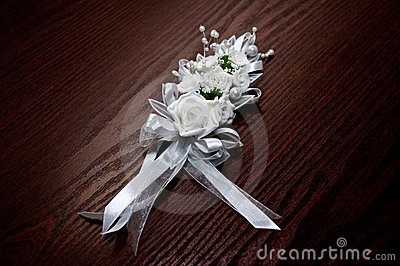 Mazzo bianco di cerimonia nuziale