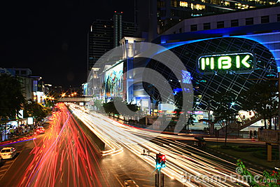 MBK at night Editorial Photography