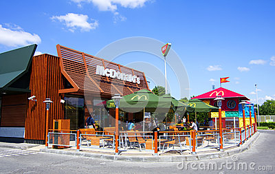 Mc Donald s Editorial Stock Image