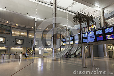 McCarran D Gates in Las Vegas, NV on July 01, 2013 Editorial Stock Photo