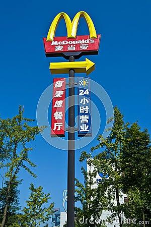 McDonald s Editorial Photo