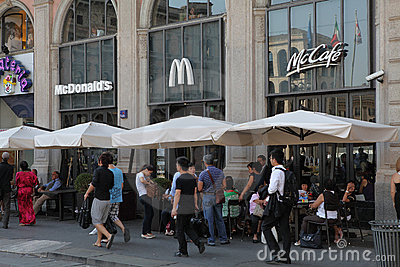 McDonald s Editorial Image