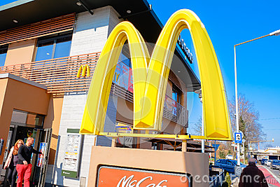 McDonald s Editorial Stock Image
