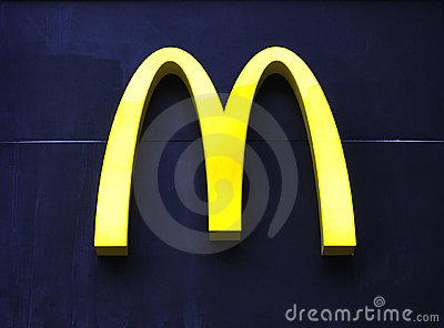 McDonald s Logo Editorial Stock Image