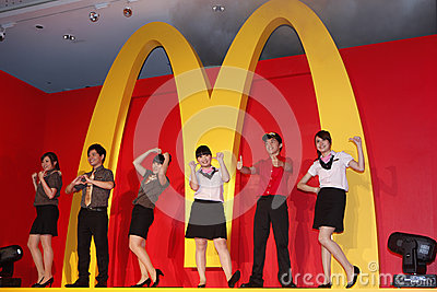Mcdonalds recruit Editorial Image