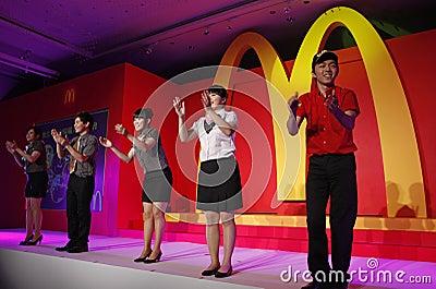 Mcdonalds recruit Editorial Stock Photo