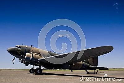 McDonnel Douglas DC-3 C-47A - SAAF 6859 Editorial Image