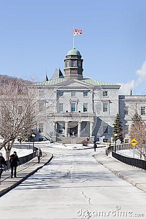 McGill University Arts Building Editorial Stock Image