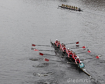 McGill University Women s Crew Editorial Image