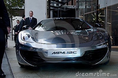 McLaren MP4-12C Editorial Stock Image