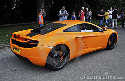 A McLaren MP4-12C Editorial Photography