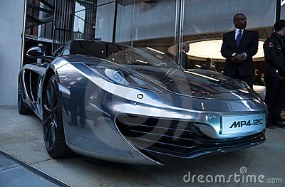 McLaren MP4-12C Editorial Image