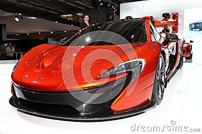 McLaren P1 Editorial Photo