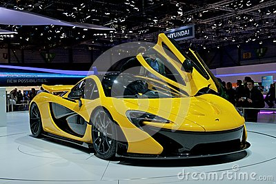 McLaren P1 Editorial Stock Image