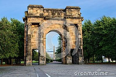 McLennan Arch, Glasgow