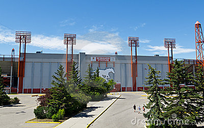 McMahon Stadium Editorial Stock Photo