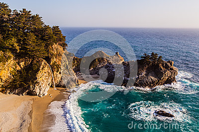 Mcway falls - Pacific coast highway