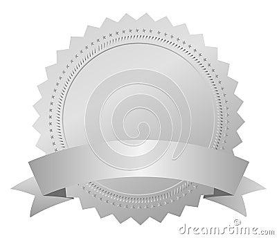 Médaille argentée de récompense
