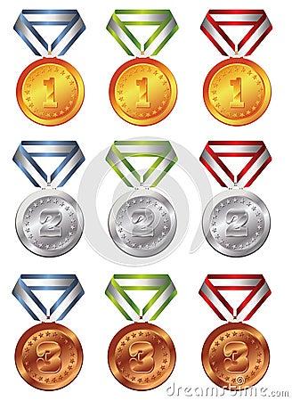 Médaille de récompense