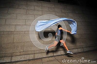 Mädchen in Bewegung 11