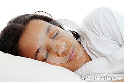 Mädchen-Schlafen
