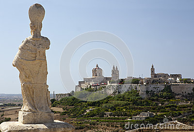 Mdina from distance