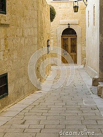 Mdina Wooden Door