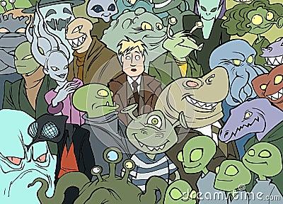 Me among aliens