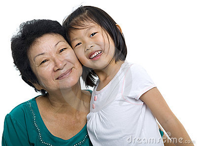 Me en mijn grootmoeder