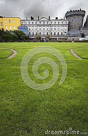 Meadow Square in Dublin Castle