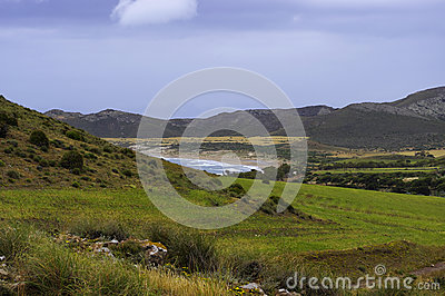 The meadows of the Cabo de Gata national park