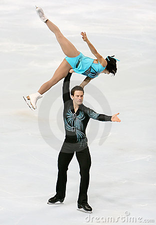 Meagan DUHAMEL / Craig BUNTIN short program Editorial Stock Image