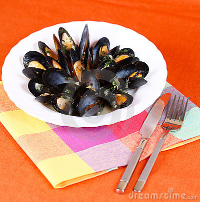 Meal from mussels