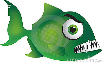 Mean Green Piranha