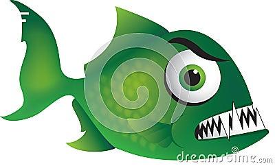 Mean Green Piranha