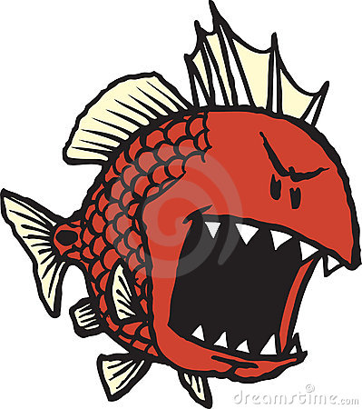 Mean Red Fish