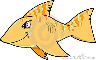 Mean Shark Vector Illustration